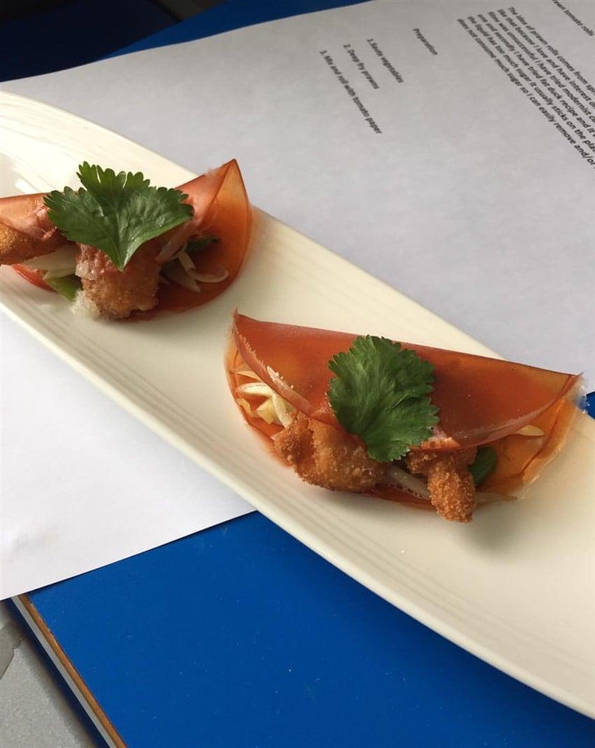 Modern Mutfak: Yenilebilir Paketler edible wrappers