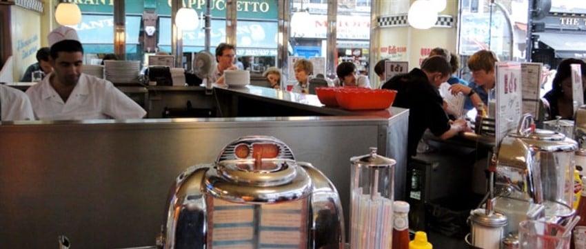 Soho'da Diner Keyfi: Ed's Easy Diner