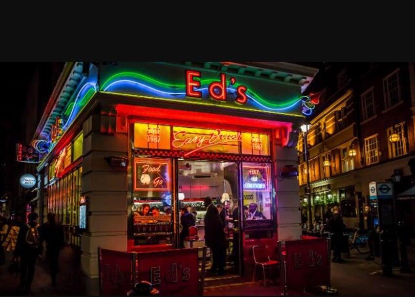 Soho'da Diner Keyfi: Ed's Easy Diner diner keyfi
