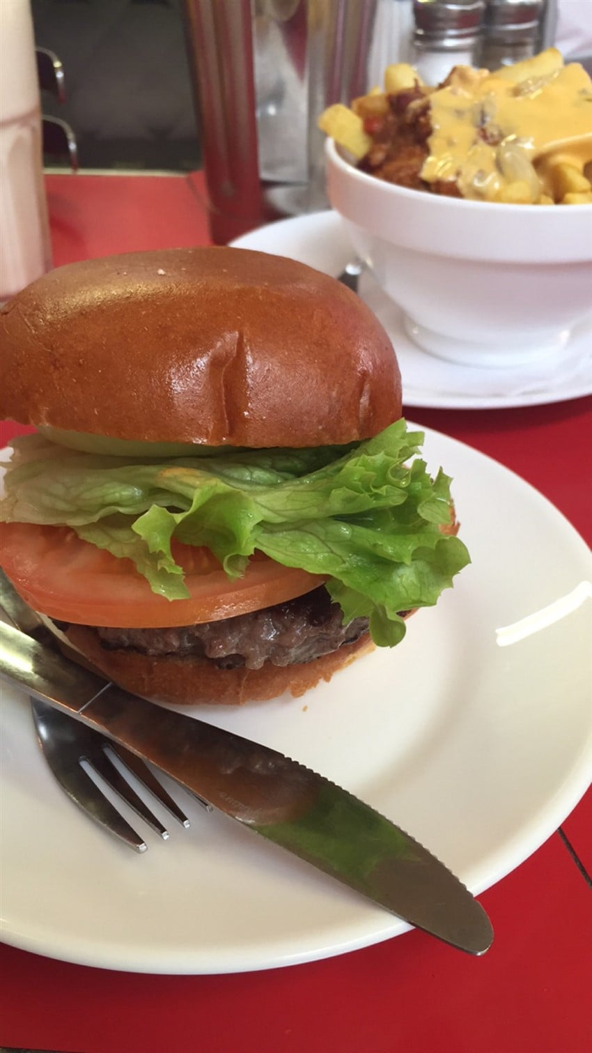Soho'da Diner Keyfi: Ed's Easy Diner diner burger