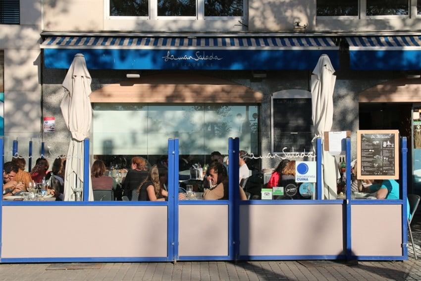 Barselona'da En İyi Tapas Mekanları Restaurante La Mar Salada