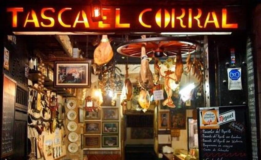 Barselona'da En İyi Tapas Mekanları Tasca El Corral