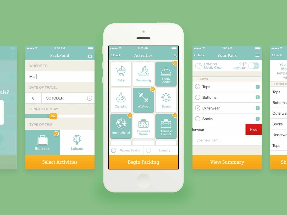 Seyahat Ederken Telefonunuzda Olması Gereken 10 Uygulama Packpoint
