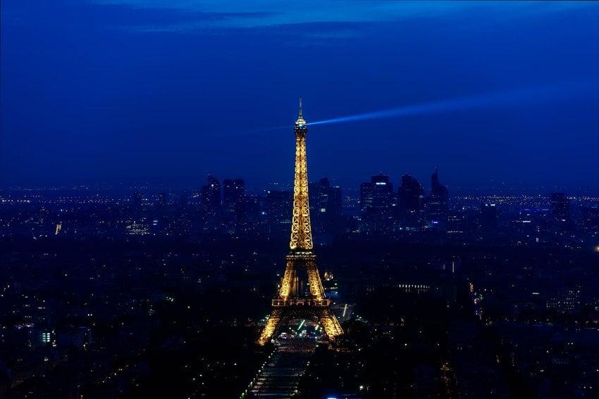 Eyfel Kulesi Akşam