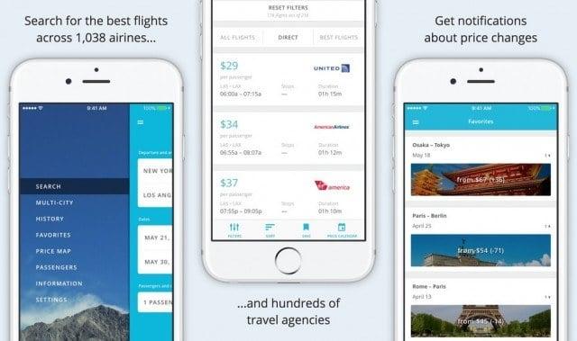 Ucuz Uçak Bileti Aramak için Harika Uygulamalar JetRadar