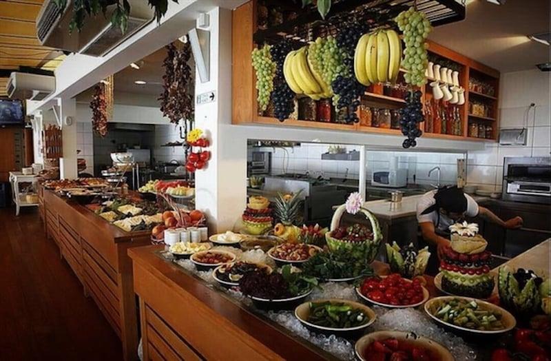İstanbul'da Açık Büfe Kahvaltı Göze Sarıyer Teras