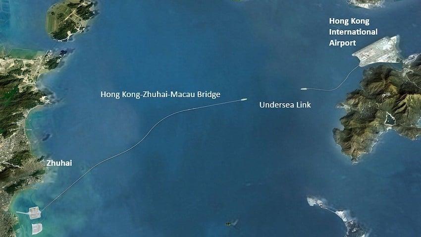 Hong Kong-Zhuhai-Makao Köprüsü: Dünyanın En Uzun Deniz Geçişi
