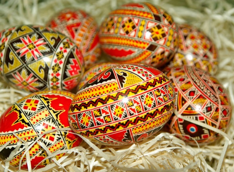 Polonya Paskalya Bayramı Yumurta