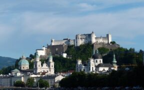 Salzburg Hohensalzburg Kalesi1