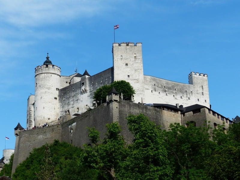 Salzburg Hohensalzburg Kalesi