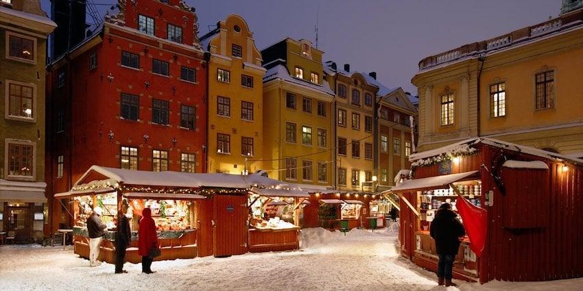 Stockholm Noel Pazarı
