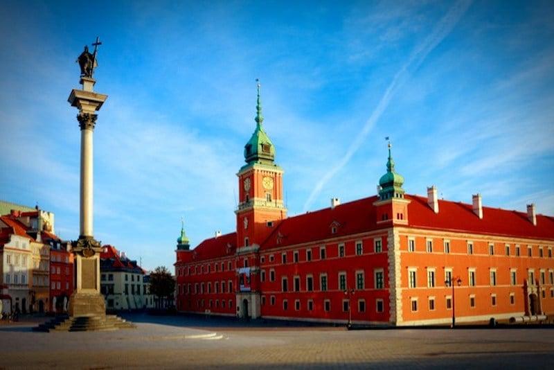 Kraliyet Sarayı, Varşova
