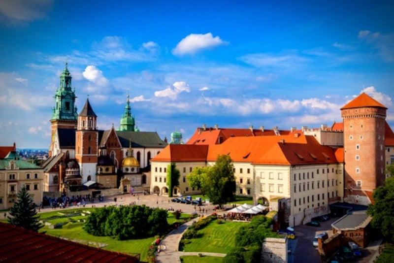 Wawel Kraliyet Kalesi, Krakov
