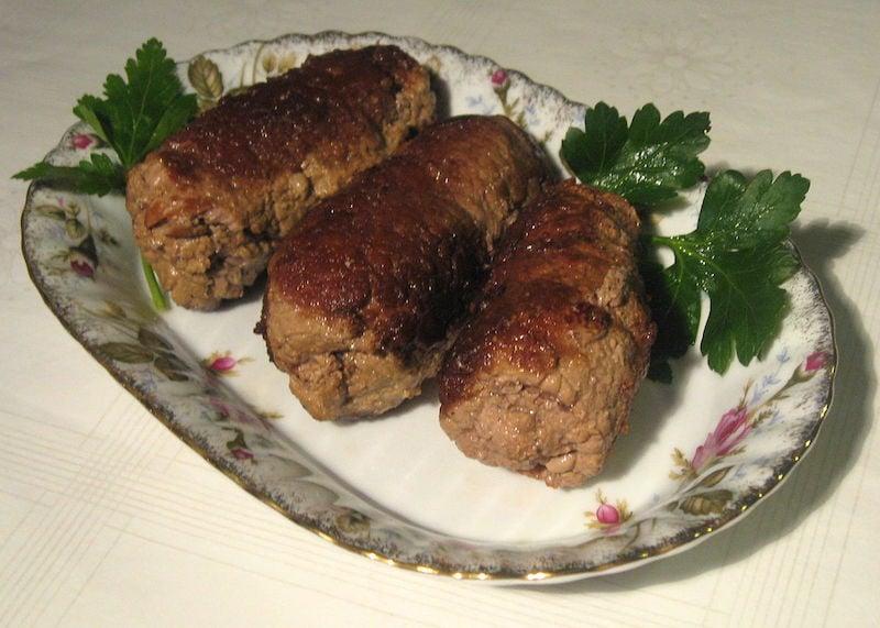 Polonya Yemekleri Zrazy