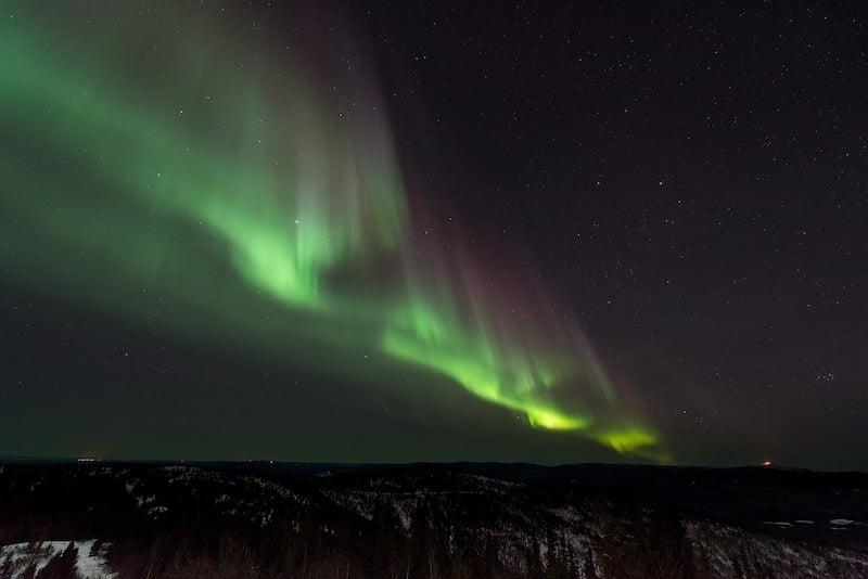 Helsinki'de Erasmus Yapmak için Nedenler Kuzey Işıkları