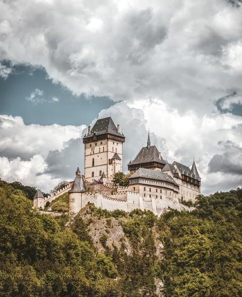 Çek Cumhuriyeti Gezilecek Yerler Castle Karlstein