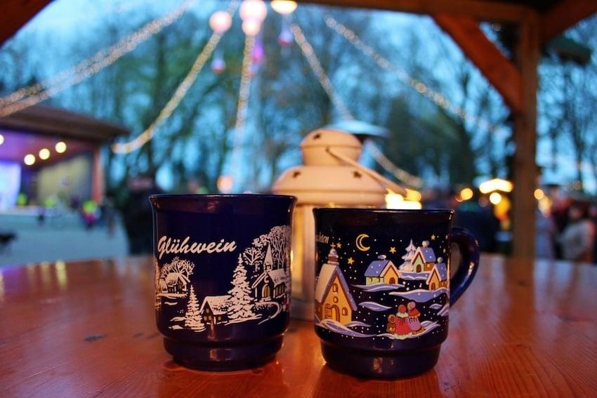 Almanya Noel Pazarları Glühwein