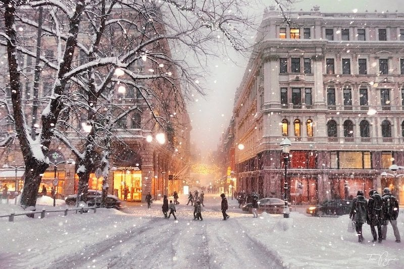 Helsinki Kış
