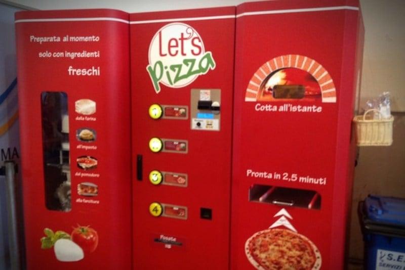 Pizza Otomatı, Avrupa