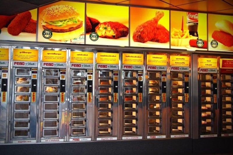 Otomat Restoranı , Hollanda