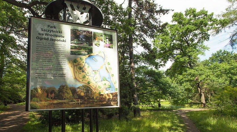 Wroclaw Szczytnicki Parkı