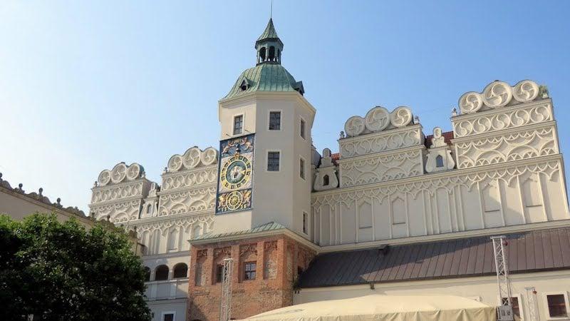 Szczecin Pomeranya Dükleri Kalesi