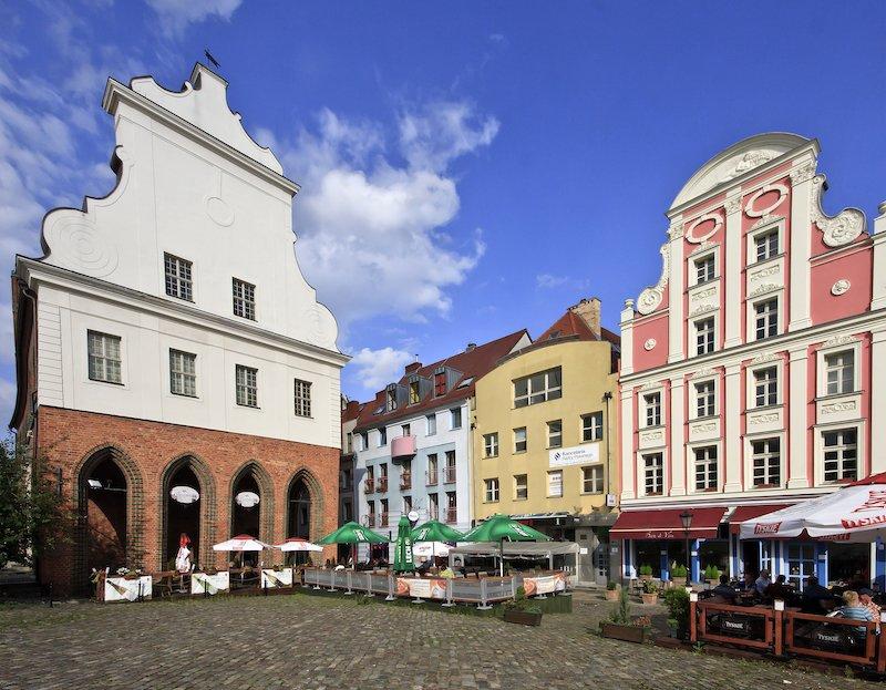 Szczecin Eski Şehir Binası