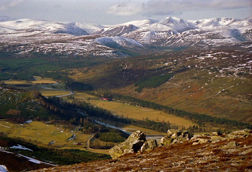 Cairngorms, İskoçya