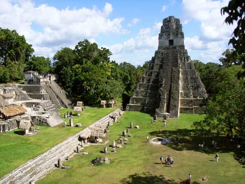 Tikal Piramitleri, Guatemala