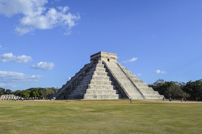 Aztek Piramitleri, Meksika