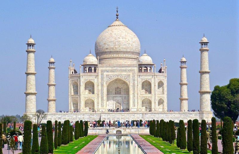 Tac Mahal (Agra, Hindistan)